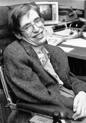 Stephen Hawking hos NASA i 1980.