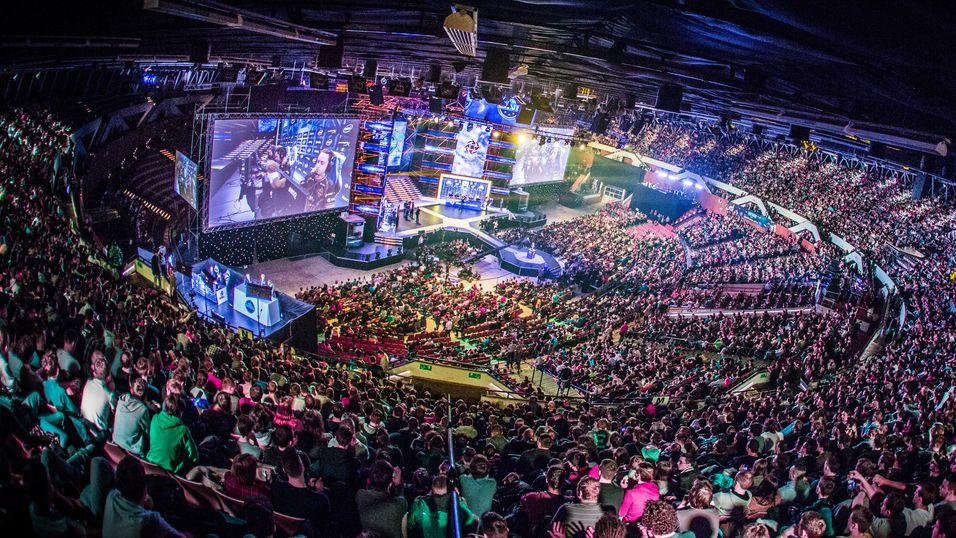 Slik så det ut under ESL One Katowice i mars.