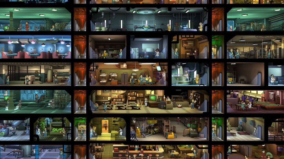 Dere har laget over 85 millioner hvelv i Fallout Shelter