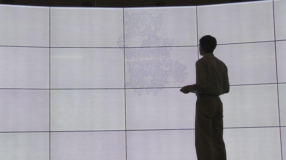 Det er ikke en grå vegg - det er verdens største Minesveiper-spill
