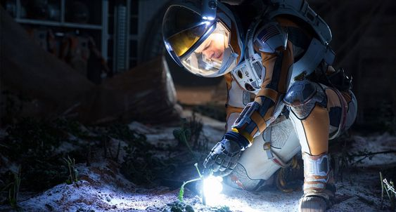 I oktober kommer den filmatiserte utgaven av The Martian på kino. Les boken før!