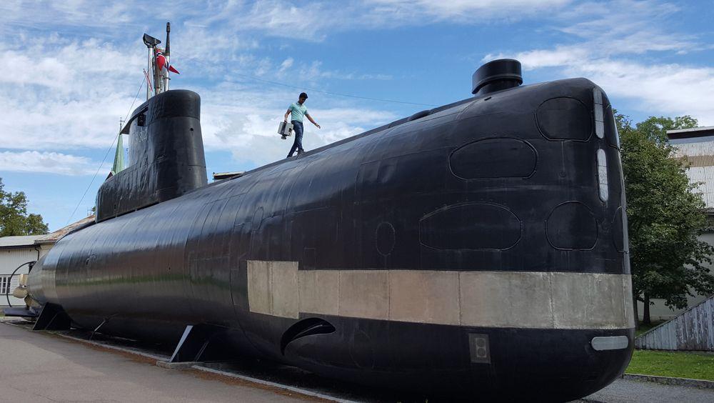 FEATURE: Her skannes en hel ubåt innvendig og utvendig med laser