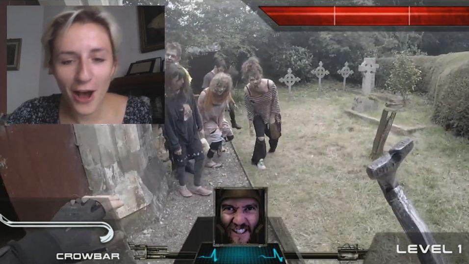 Tilfeldige nettbrukere måtte redde mann fra zombie-apokalypsen