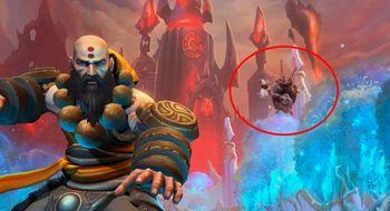 Blizzard snek et minispill inn i menyen til Heroes of the Storm