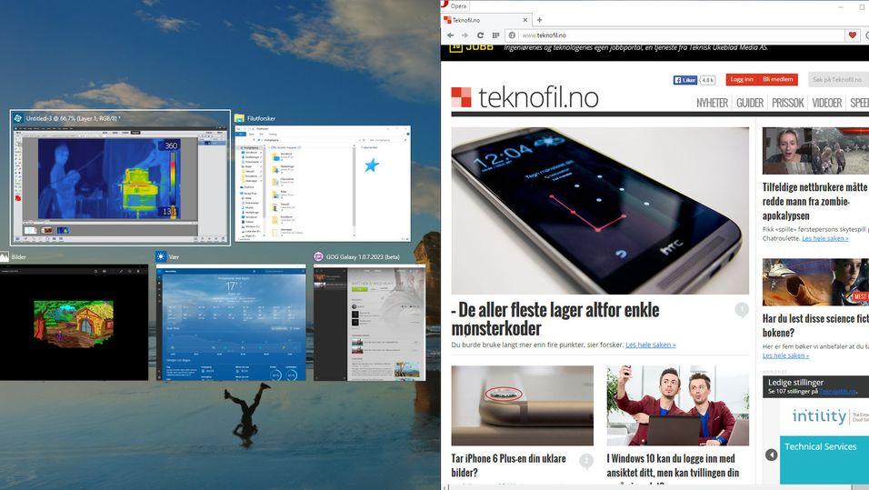 GUIDE: «Snapping» har blitt mye bedre i Windows 10