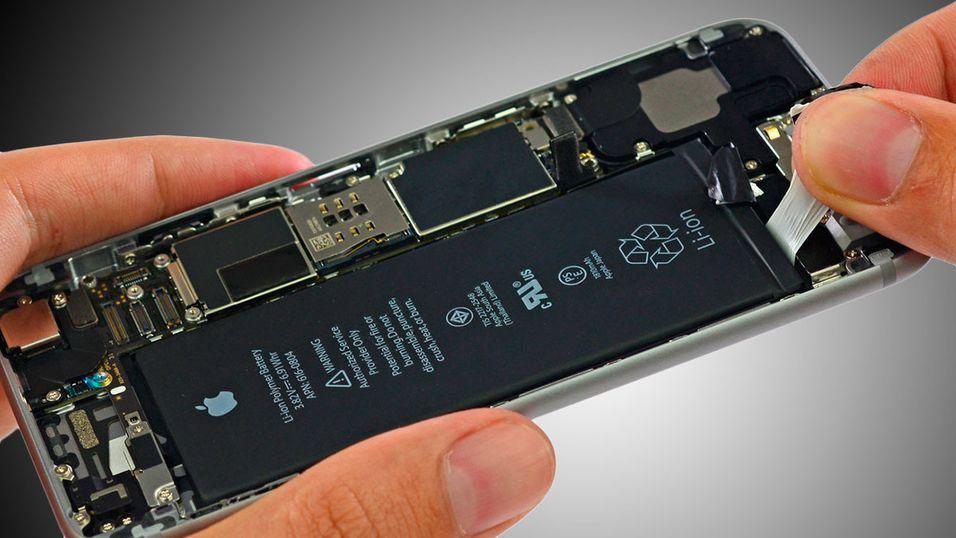 iPhonen med brenselcelle i varte i én uke før den måtte lades