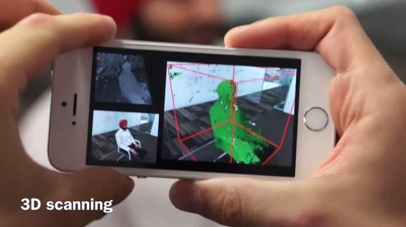 Ny løsning lar deg bruke en helt vanlig mobil som 3D-skanner