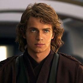 Anakin Skywalker før han ble forvandlet til Darth Vader.