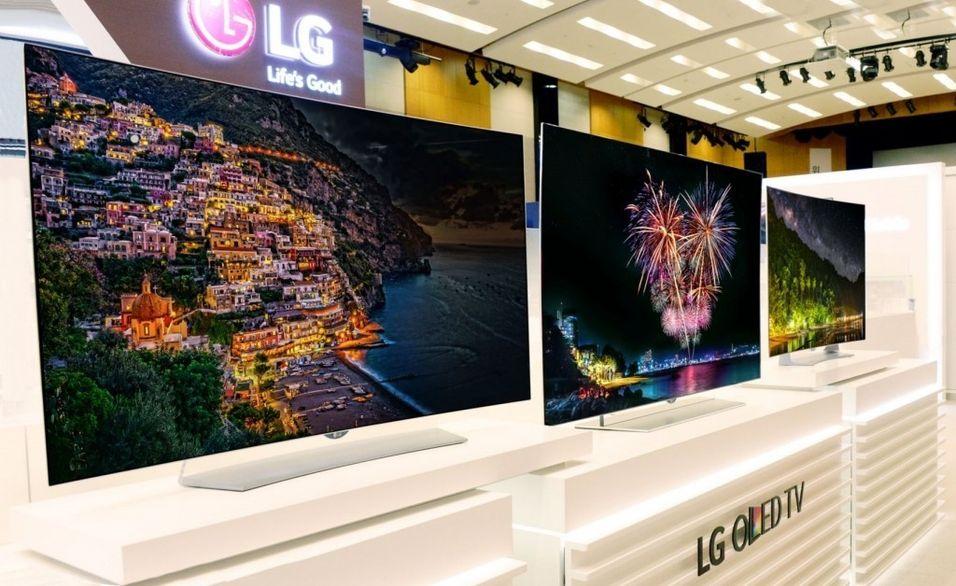 Dette er noen av de nye OLED-TV-ene LG har på gang.