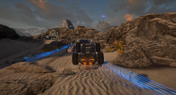 Futuristisk bilkampspill kommer til Steam Early Access