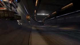 I tunellene kan du kjøre i taket.