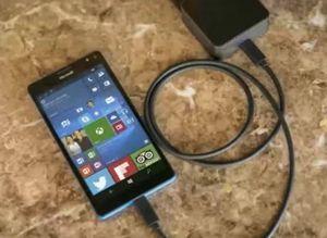 Dette bildet skal ha lekket og viser Lumia 950.