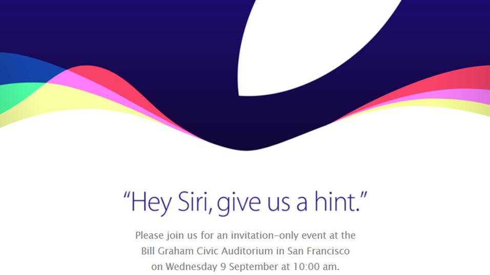 I en ny vri brukte Apple denne gangen stemmeassistenten Siri i markedsføringen av det årlige arrangementet.