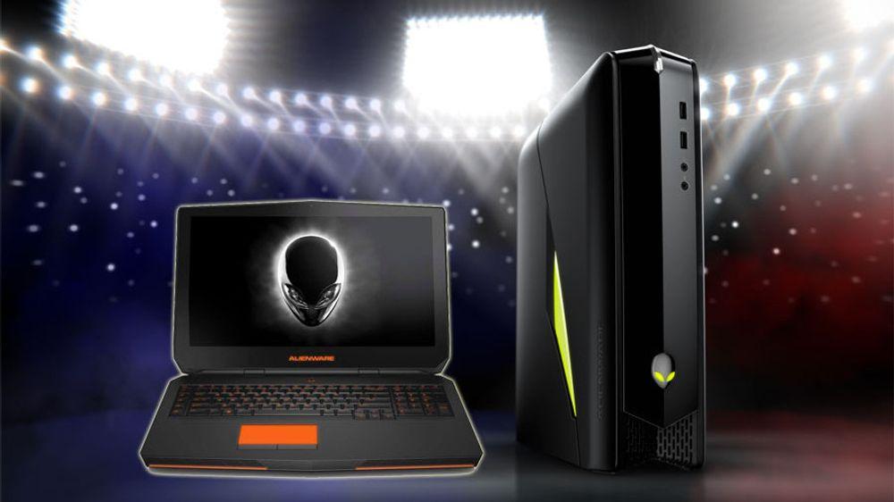 Alienwares spillmaskiner blir kraftigere