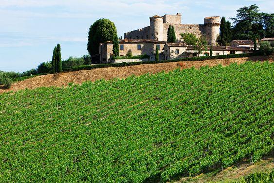 Castello di Meleto er så toscansk som det kan bli.