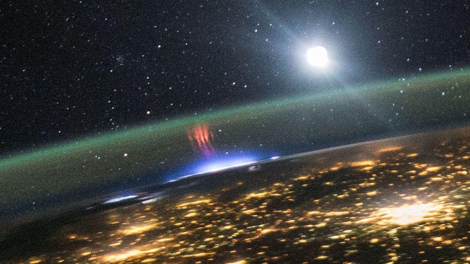 NASA tok dette bildet fra ISS
