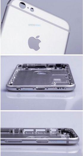 Slik skal rammen til iPhone 6S etter alt å dømme se ut.
