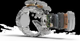 Smartlokke-elektronikken er bygget inn i en separat del av klokken, nemlig reimen.