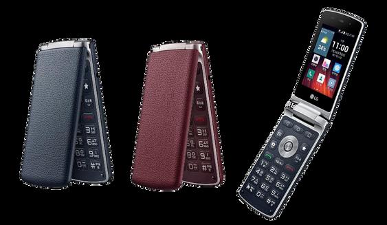 LG Easy Smart finnes i både rødt og blått. Begge fargene kommer til Norge.