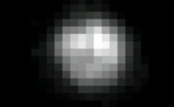 Dette var det beste bildet tatt av Pluto før New Horizons-ekspedisjonen.