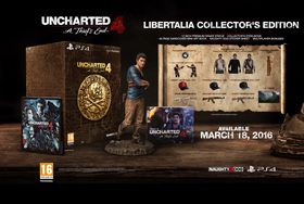 Innholdet i Uncharted 4: A Thief's End Libertalia Collector's Edition.