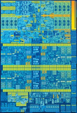 Skylake-prosessoren, naken og sårbar.