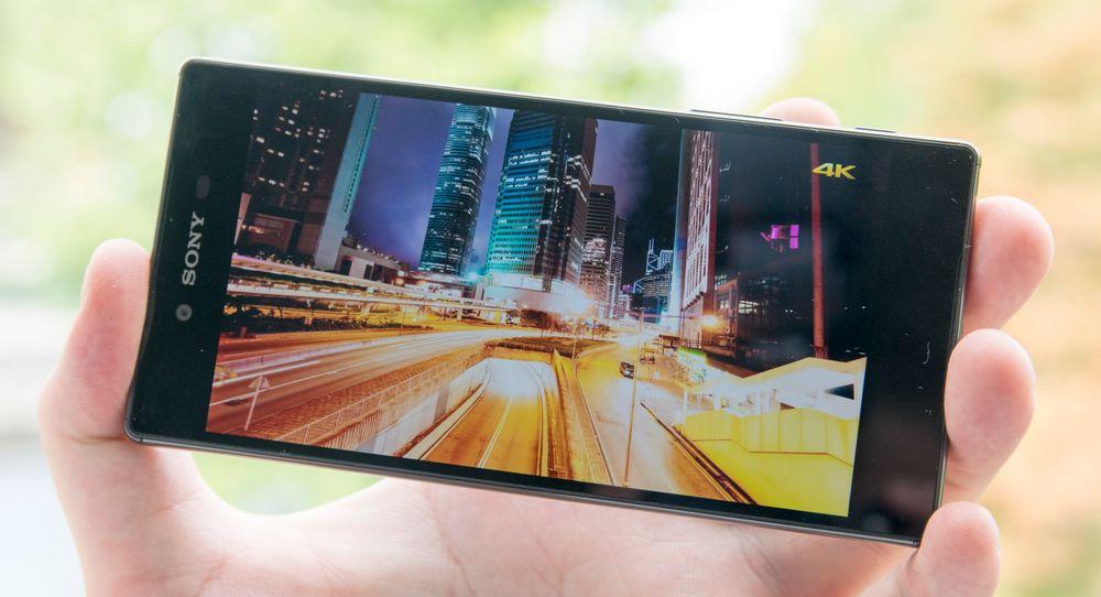 SNIKTITT: Slik er Sonys 4K-mobil