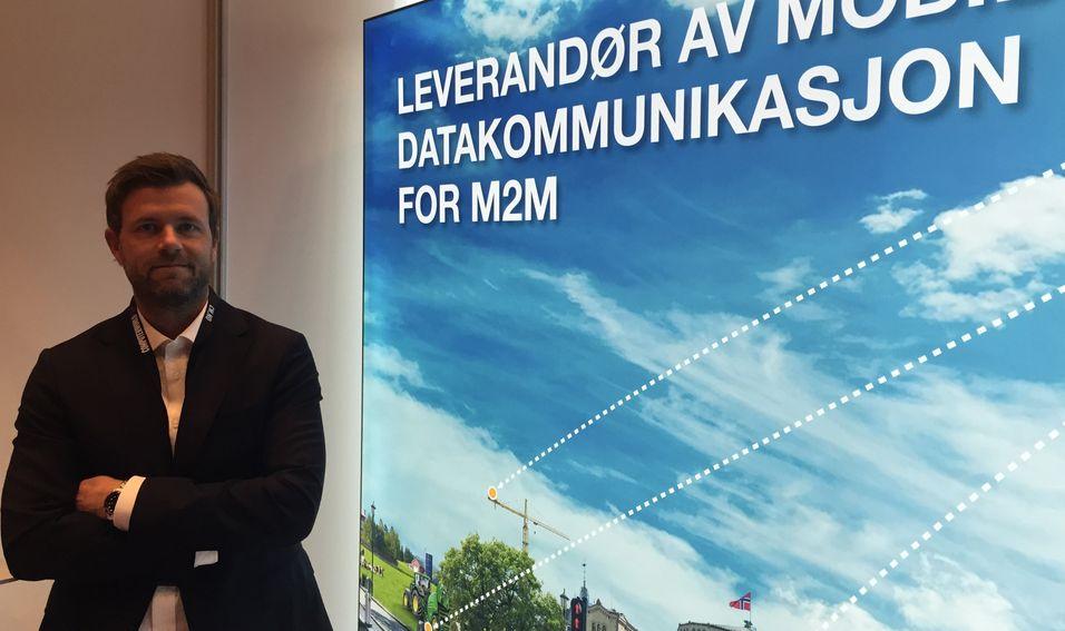 Salgssjef Raymond Berntsen i Com4 er klar for internasjonal ekspansjon.