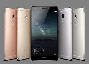 Huawei Mate S fås i flere farger.