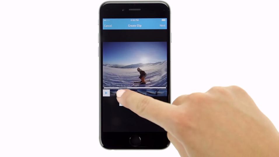 Den nye funksjonen lar deg enkelt og kjappe redigere og dele GoPro-videoer.