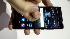 Huawei Mate S kjenner hvor hardt du trykker på skjermen.