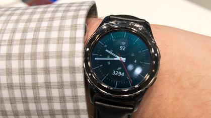 Klokkerent fra Samsung