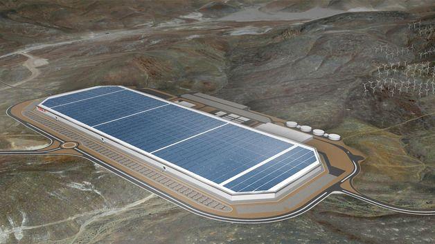 Selv om Teslas Gigafactory blir en vesentlig aktør i batterimarkedet, blir den samlede kinesiske produksjonen langt større.