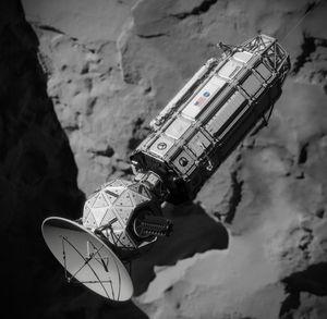 Slik tenker NASA seg at romskipet kan se ut.