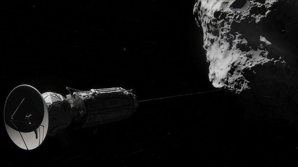 NASA vil haike med kometer