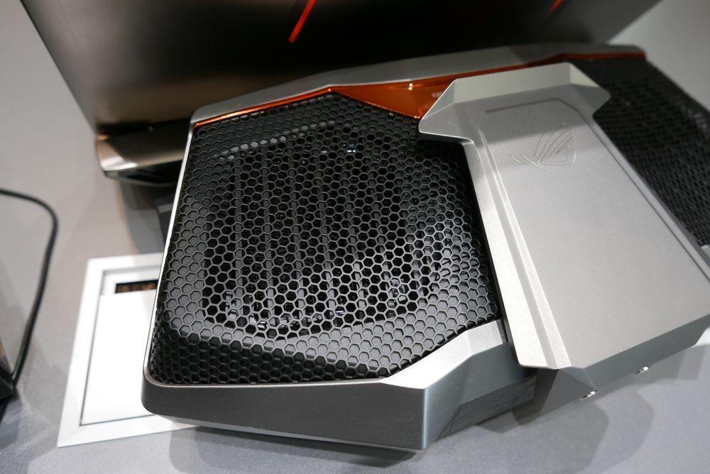 Under disse sorte utblåsningene kunne vi så vidt skimte radiatorene.