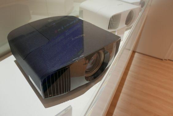Slik ser den nye 4K HDR-projektoren ut til Sony.