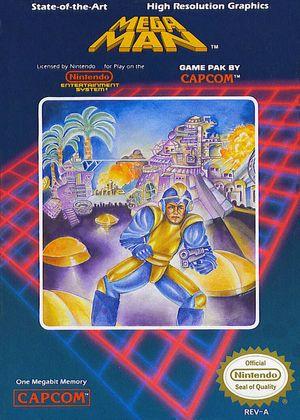 Forhåpentligvis henter ikke filmskaperne mye inspirasjon fra omslaget til det første Mega Man-spillet.