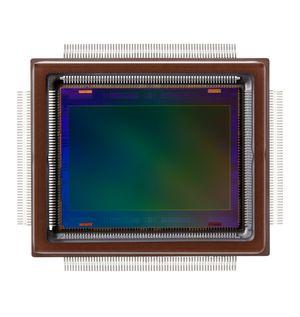 Canons 250 megapiksel CMOS-bildebrikke.