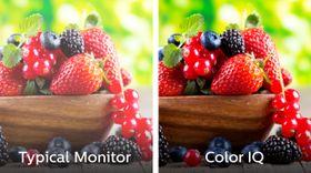 Teknologien skal gi langt bredere fargespekter og bedre fargemetning enn vanlig LCD.