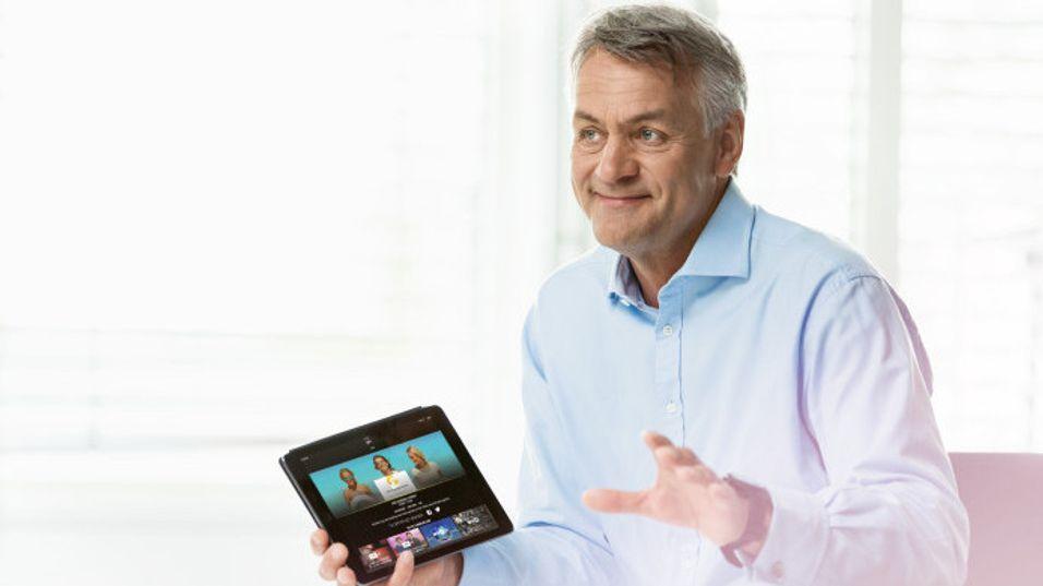 Get-sjef Gunnar Evensen sier innovasjon og nytekning gjennomsyrer alt Get gjør. Nå kan han smile som følge av en ny avtale med Obos.
