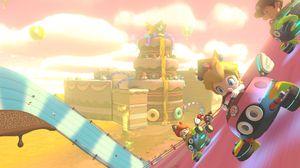 Mario Kart blir liksom litt mer uskyldig i denne formen.