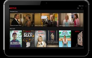 Netflix-appen støtter ikke «offline»-titting.