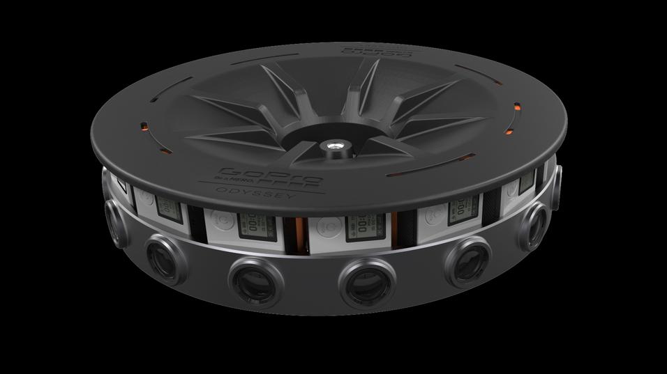 Slik ser den nye Odyssey-riggen fra GoPro ut.