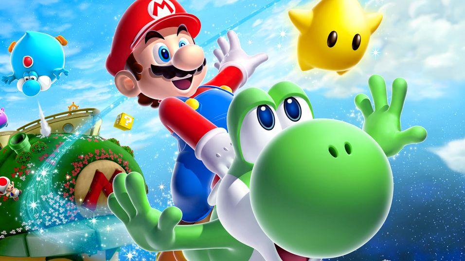 Nintendo vil lage nytt Super Mario Galaxy-spill