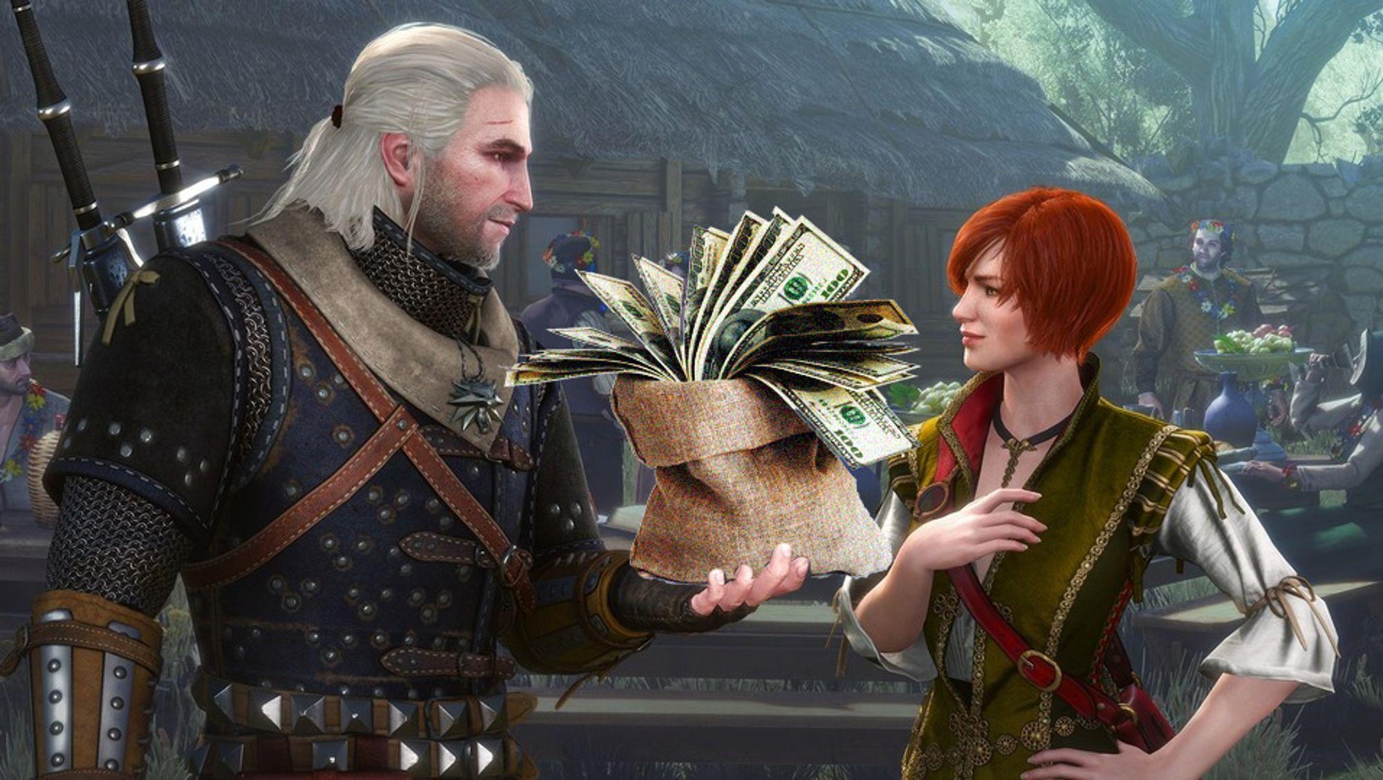 Geralt: «Så mye».