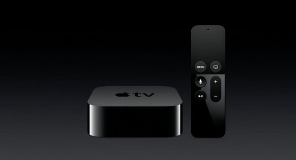 Nye Apple TV, her avbildet i forbindelse med lanseringen, er nå rett rundt hjørnet.