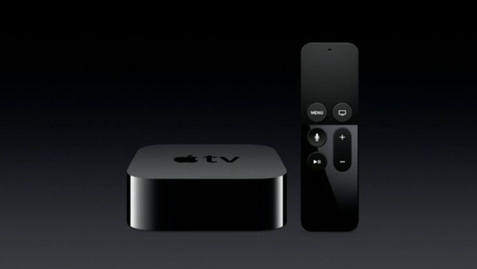 Nye Apple TV blir også en spillkonsoll
