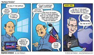 Denne tegneserien ble publisert for tre år siden...