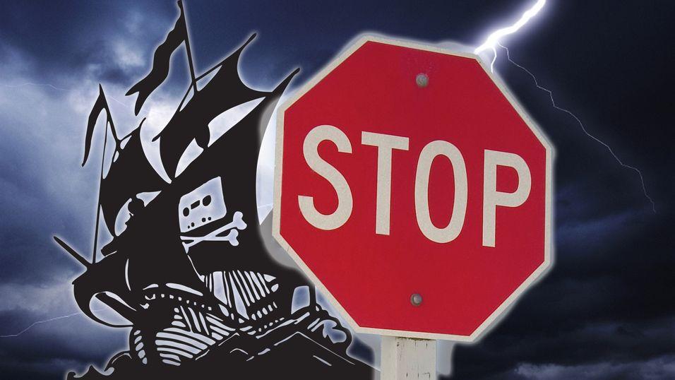 Blokkeringen av The Pirate Bay har startet